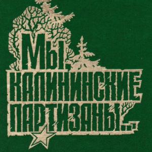 скачать книгу Мы, Калининские партизаны