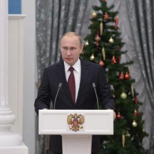 фото Владимир Путин поздравил жителей Тверской области с наступающим Новым годом