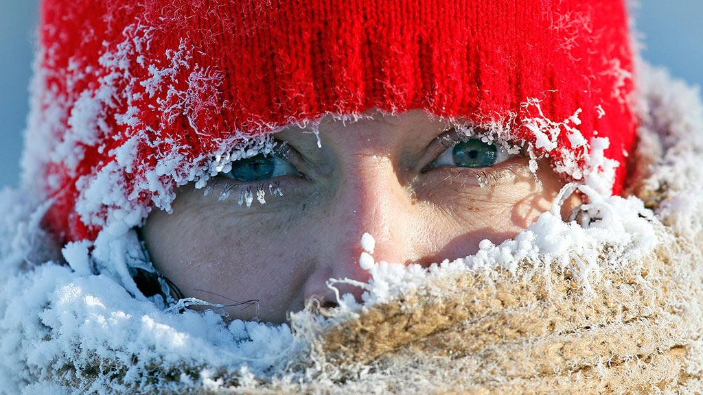 Жителей области предупреждают об аномально низкой температуре
