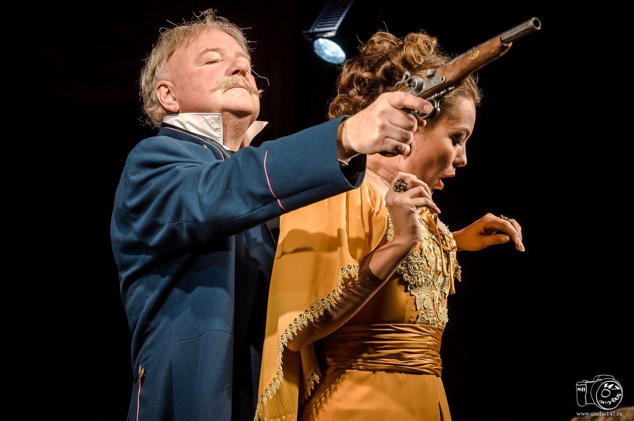 В феврале юбилей на сцене театра отметит народный артист России Владимир Чернышов