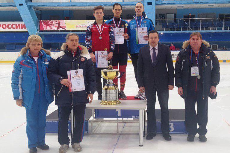 Даниил Ейбог взял серебро Кубка РФ