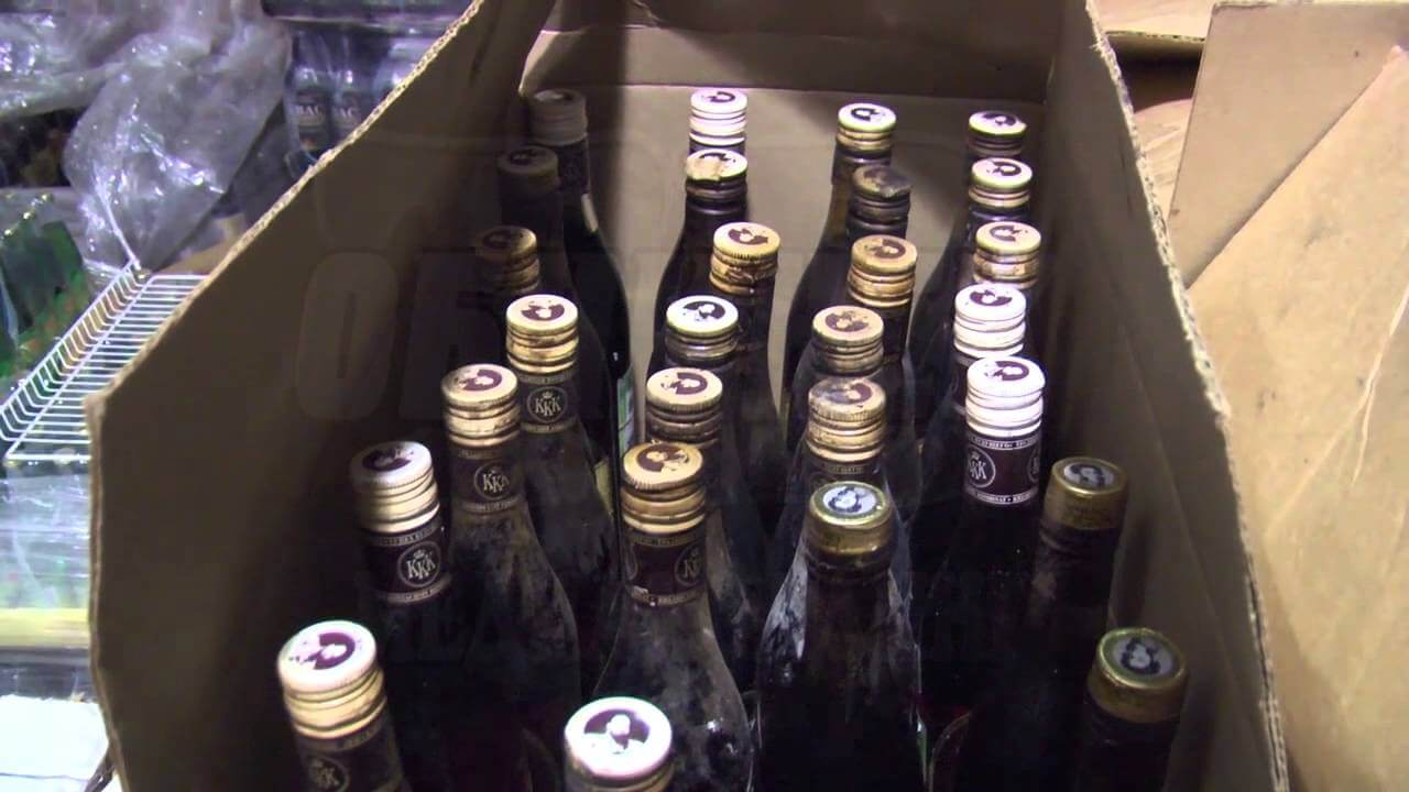 В Тверской области изъято около 300 единиц контрафактного алкоголя