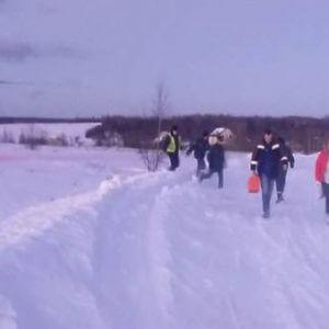 фото Санитарный вертолет МЧС совершил вылет в Зубцовский район на помощь девочке с подозрением на разрыв селезенки, пострадавшей в ДТП