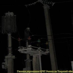 фото Электроснабжение в Осташковском районе восстановили только к ночи
