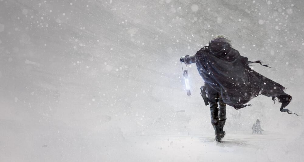 На территории Тверской области ожидается сильный снег и метель