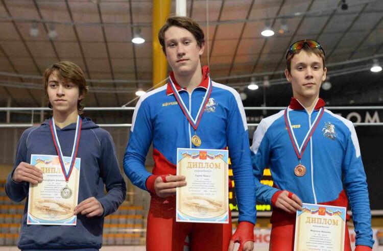 Конькобежец Дмитрий Никифоров – серебряный призер первенства ЦФО