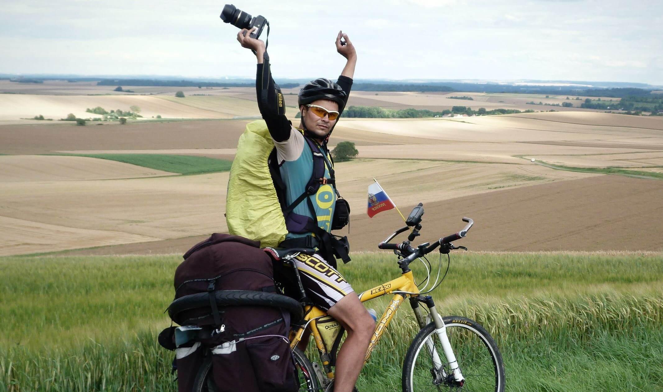 Тверитянин Александр Титов собирается проехать на велосипеде вдоль самой длинной реки в Европе