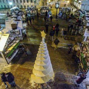 фото Рождественская ярмарка не выдержала рождественских морозов
