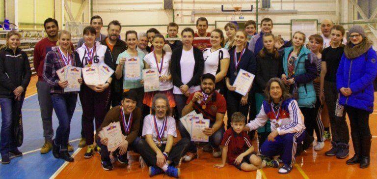 Определились победители чемпионата Тверской области по бадминтону