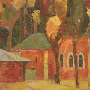 фото В Твери пройдет выставки живописи московского художника Чулпан Цветковой