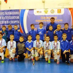 фото Юные тверские футболисты - серебряные призеры межрегионального турнира