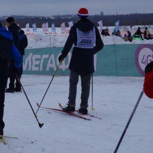 фото «МегаФон» поддержал «Лыжню России-2017»