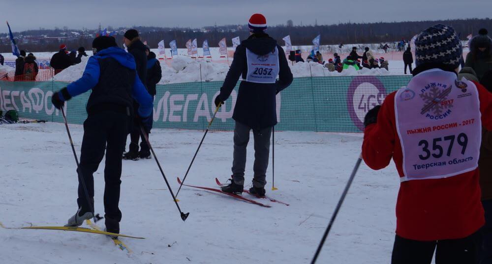 «МегаФон» поддержал «Лыжню России-2017»
