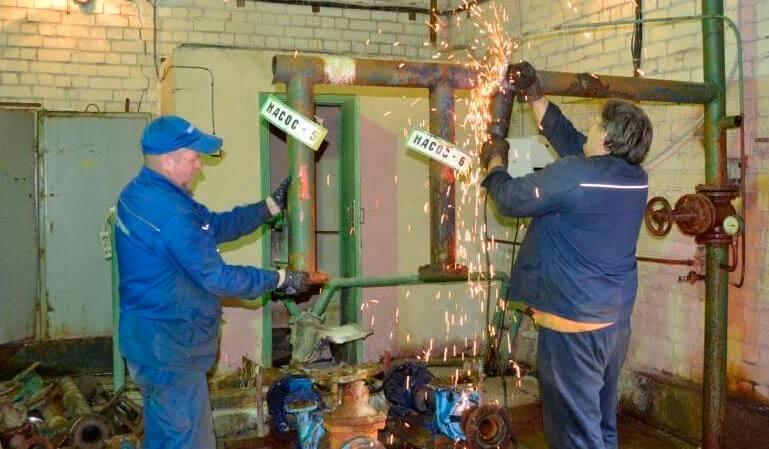 ТверьВодоканал за 2016 год обновил оборудование 15 насосных станций