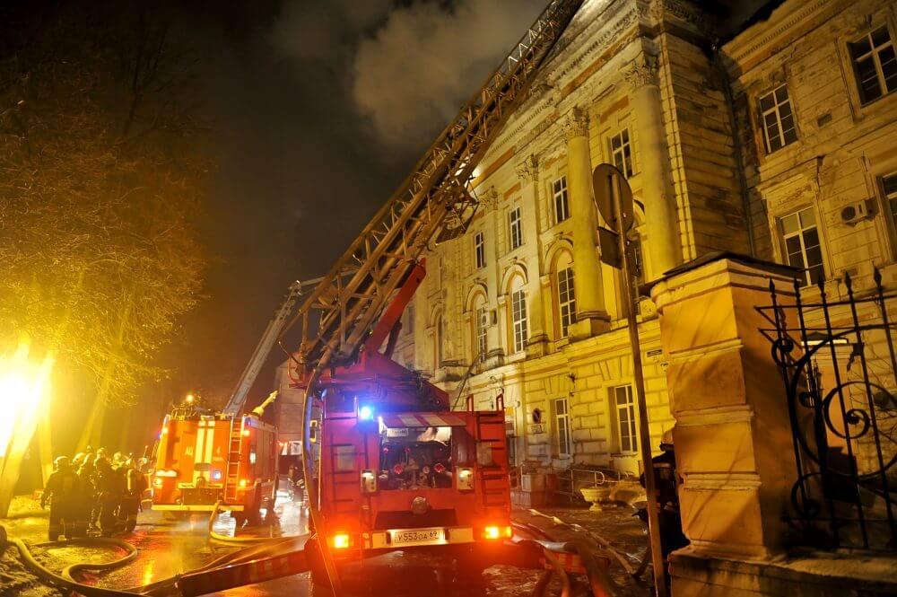 Пожар в Тверской детской областной клинической больнице