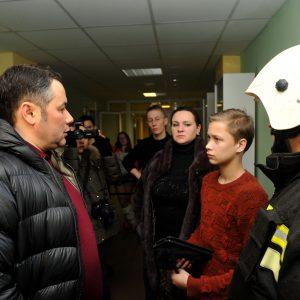 фото Пациенты ДОКБ эвакуированы в новый корпус больницы, им будет оказана необходимая помощь
