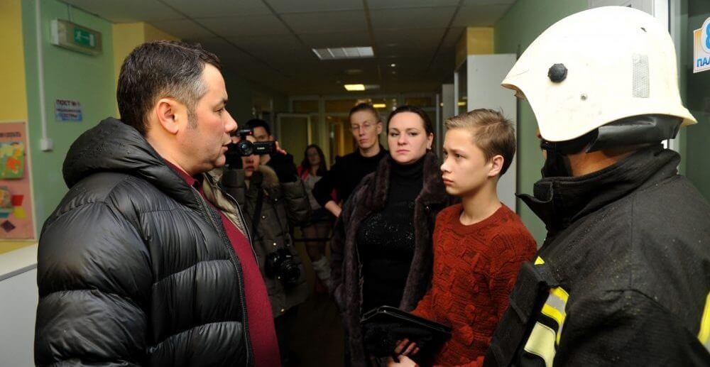 Пациенты ДОКБ эвакуированы в новый корпус больницы, им будет оказана необходимая помощь