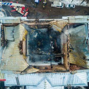 фото Следователи продолжают выяснять обстоятельства пожара в детской областной больнице