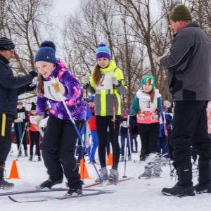 фото В Максатихе прошли спортивные соревнования по лыжным гонкам