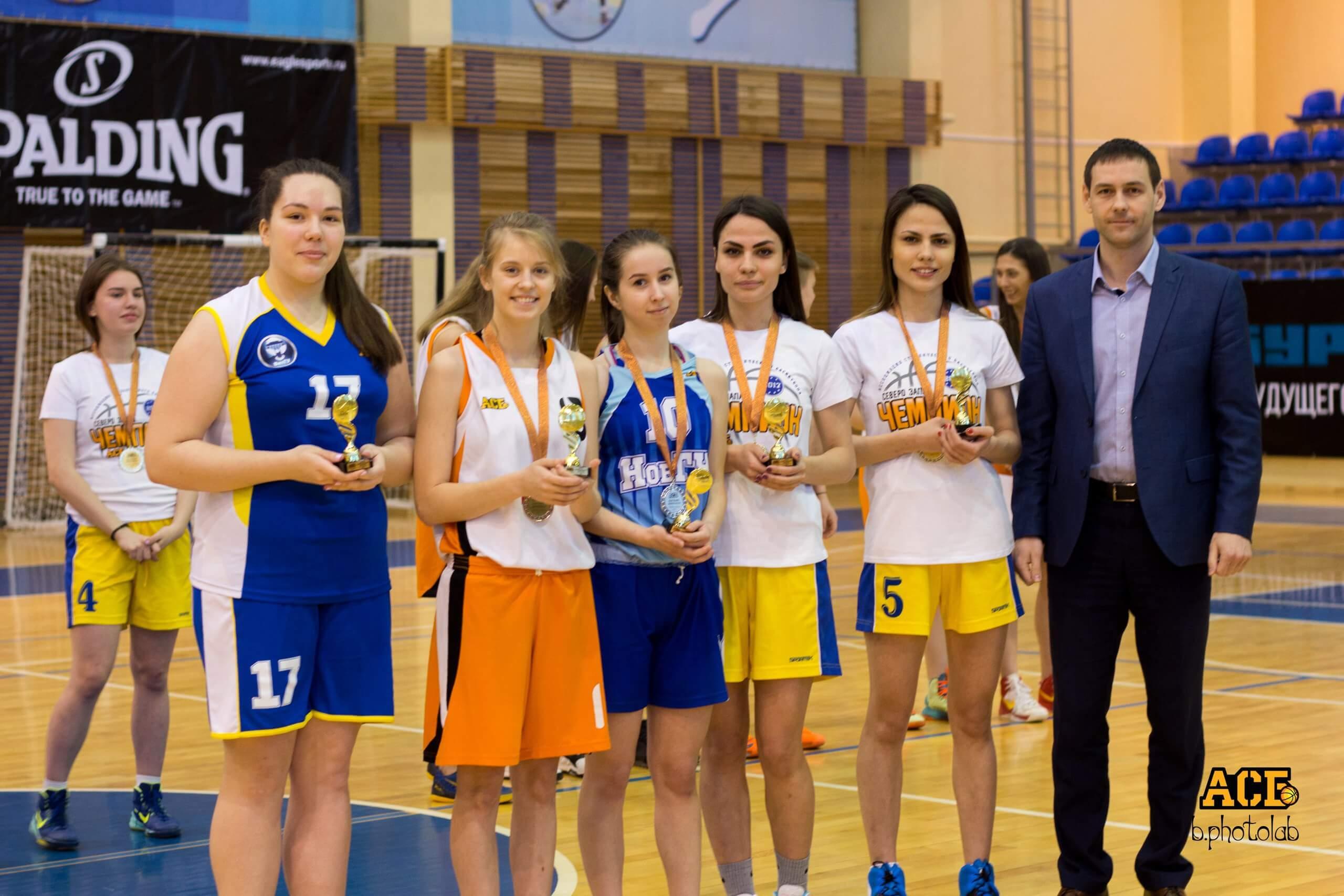 Сборная ТвГТУ - Чемпионы матча Финала четырех среди женских команд
