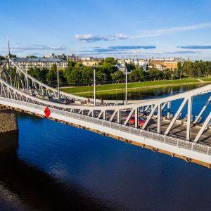фото Покраску Старого моста в Твери решили перенести