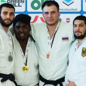 фото Роман Бобиков стал бронзовым призером Кубка Европы по дзюдо