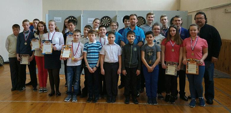 В Калининском районе прошел межмуниципальный турнир по дартсу