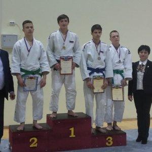 фото Тверские спортсмены завоевали медали на Спартакиаде учащихся по дзюдо
