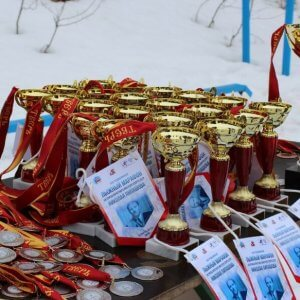 фото Под Тверью прошел открытый лыжный марафон на приз Николая Липашова