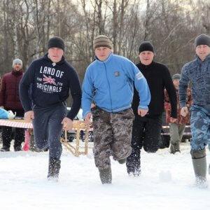 фото В Торжокском районе охотники соревновались в ловкости, выносливости и меткости