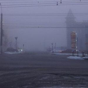 фото МЧС рекомендует водителям быть аккуратнее на дороге во время тумана