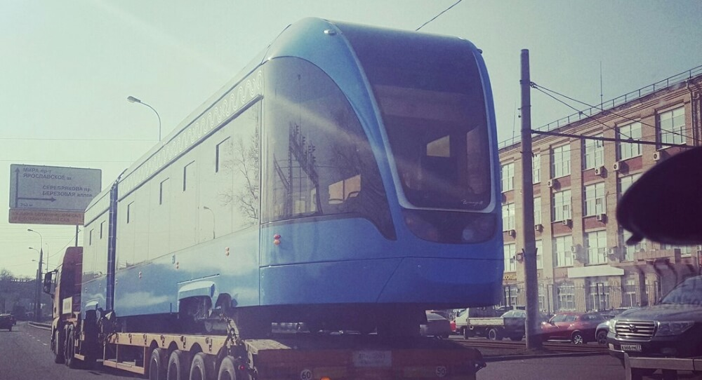 300 трамваев, созданных на базе ТВЗ, пополнят парк транспорта Москвы