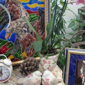 """фото В Тверском ботаническом саду проходит выставка """"Сияние цветочных витражей"""""""