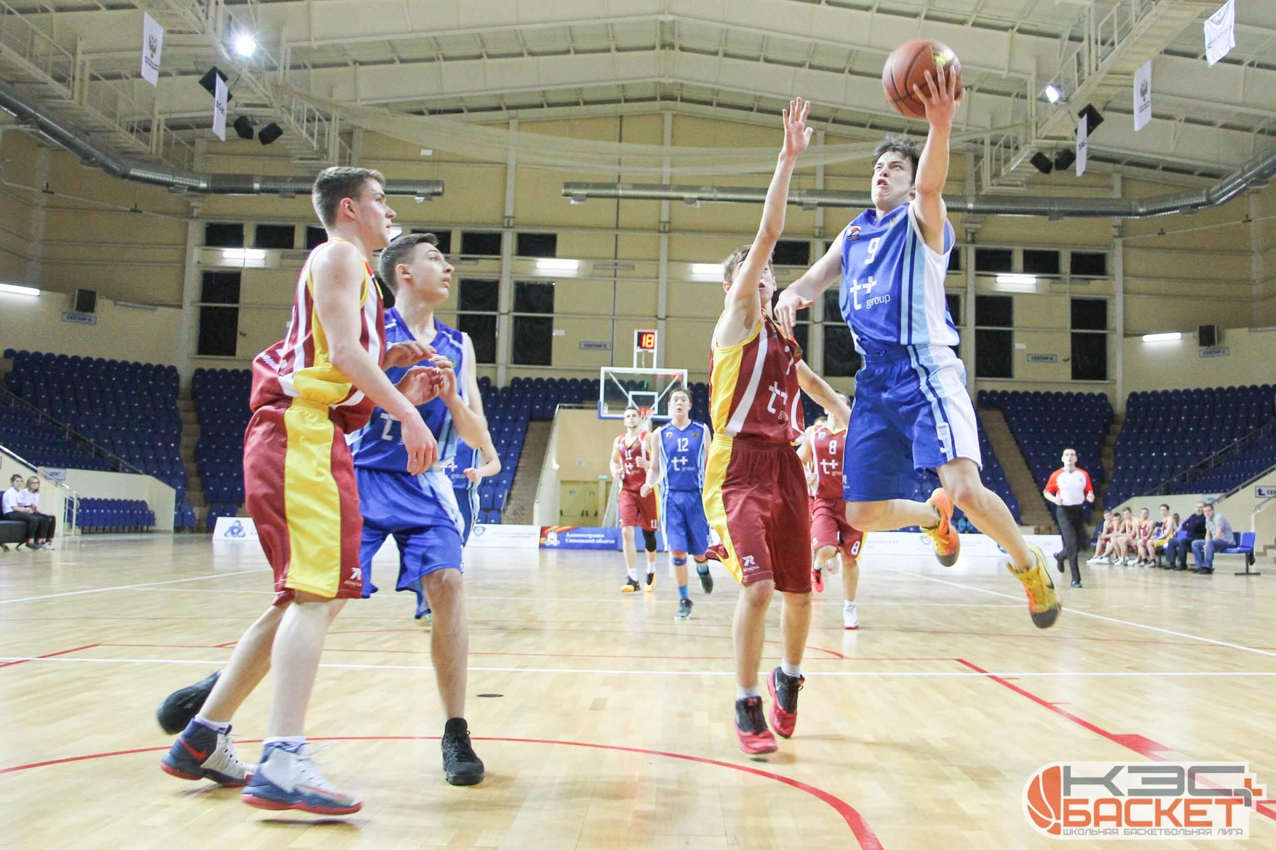 Ржевские баскетболисты стали первыми в финале Чемпионата ЦФО