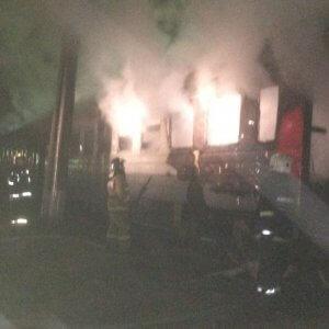 фото В Кимрах сгорел вагон пассажирского поезда