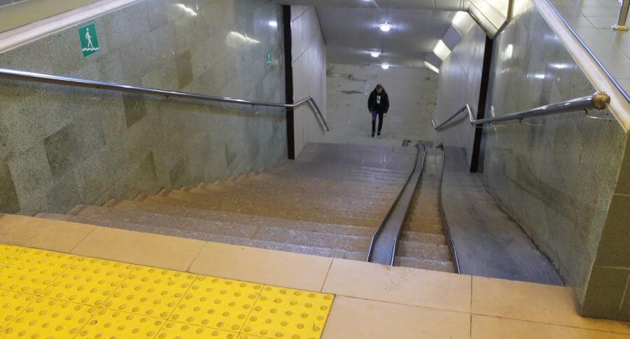 Активисты ОНФ оценили доступность железнодорожного вокзала в Твери