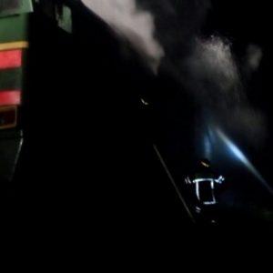 фото В Тверской области загорелся тепловоз