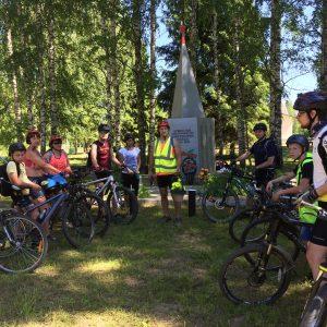 фото В Торжокском районе прошел велопробег по местам боевой славы