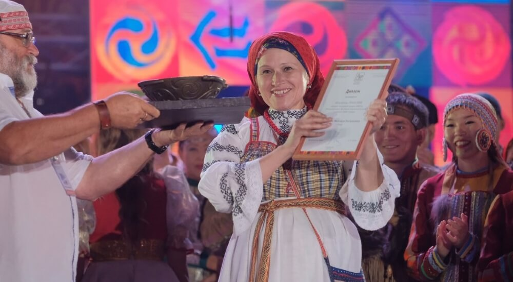 "Тверичанка завоевала Гран-при фестиваля ""Мир Сибири"""
