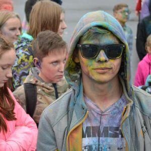 фото Фестиваль красок в Твери состоялся несмотря на дождливую погоду