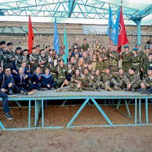 """фото В Удомле прошла областная военно-спортивная игра """"Орленок"""""""