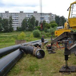 фото «Тверь Водоканал» приступил к замене участка водовода в Пролетарском районе