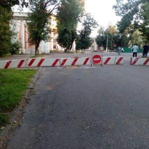 фото Тверичам запретили близко подходить к разрушенному Речному вокзалу