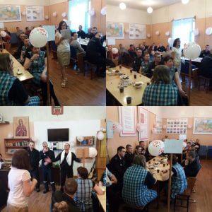 """фото Волонтеры организовали праздник """"День рождения оптимиста"""" для заключенных СИЗО-1"""