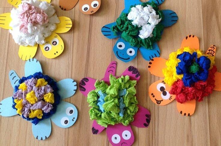 В Твери пройдет мастер-класс для детей по созданию симпатичных черепашек