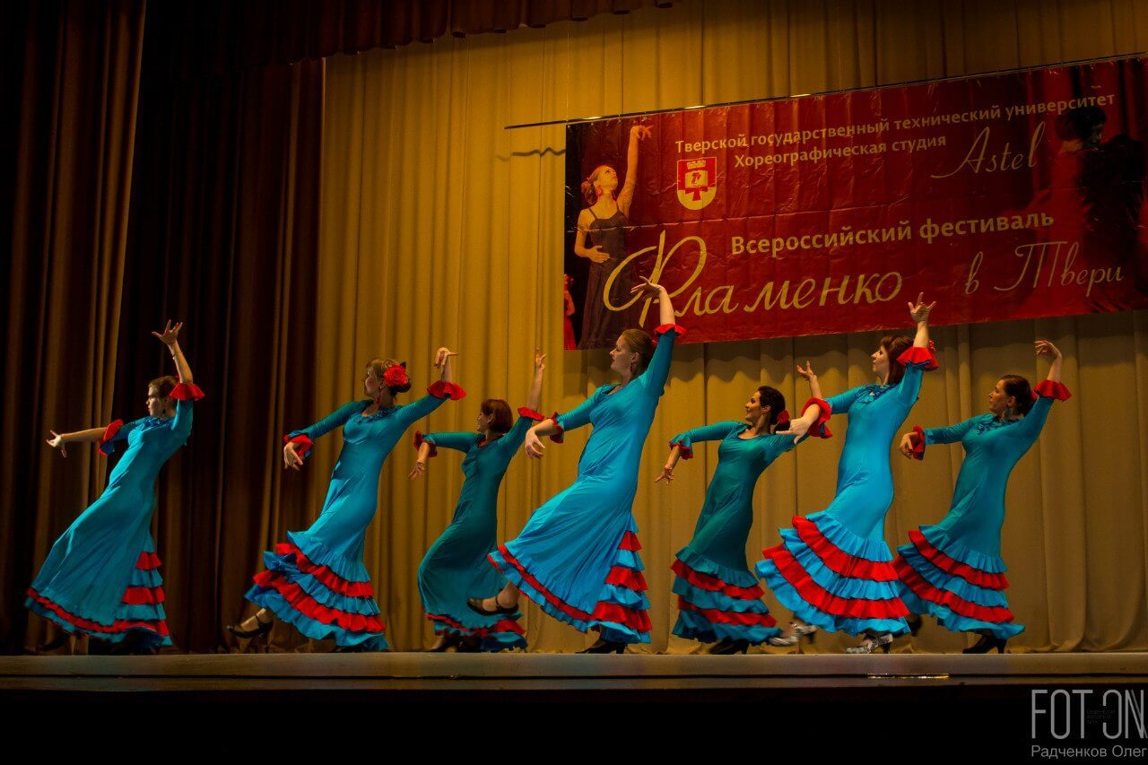 ТвГТУ и хореографическая студия «Astel» приглашают зрителей на VI Всероссийский фестиваль фламенко
