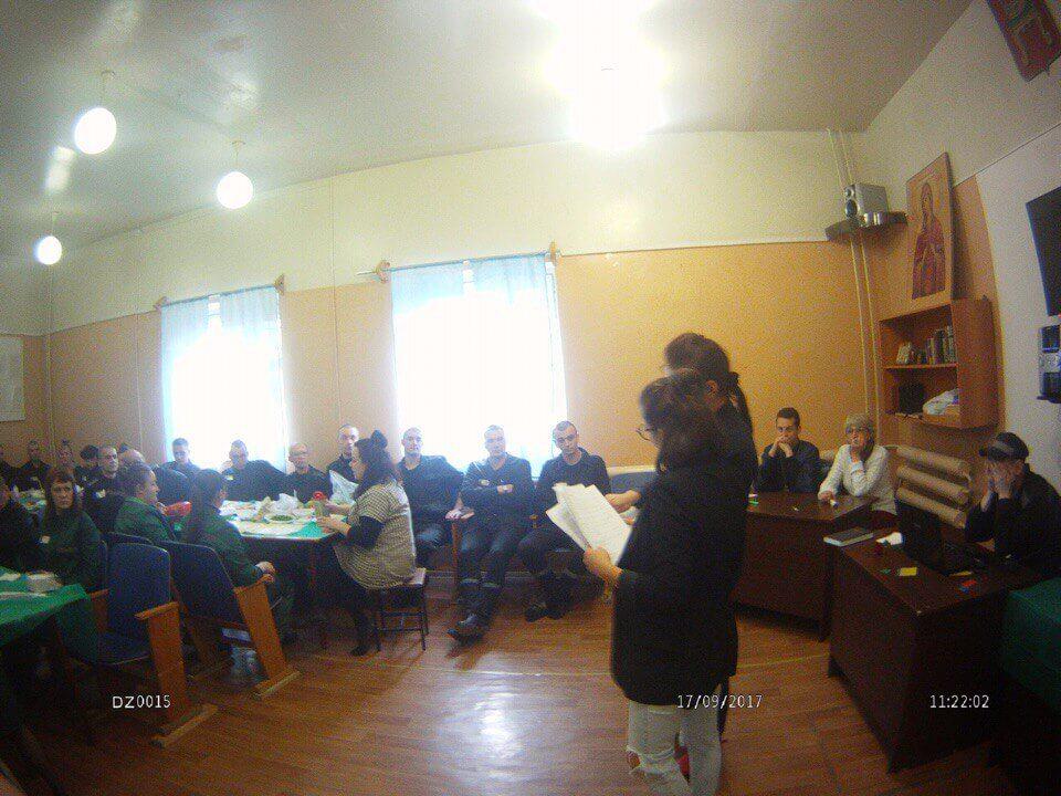 Волонтеры провели День трезвости в СИЗО-1