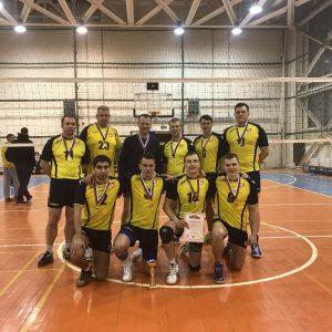 фото Мужская сборная ТвГТУ по волейболу - чемпион области