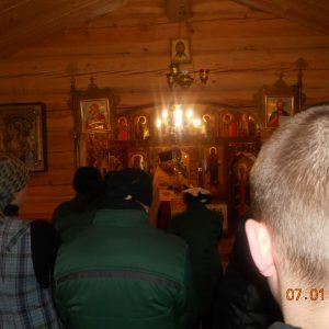 фото Рождество Христово за колючей проволокой