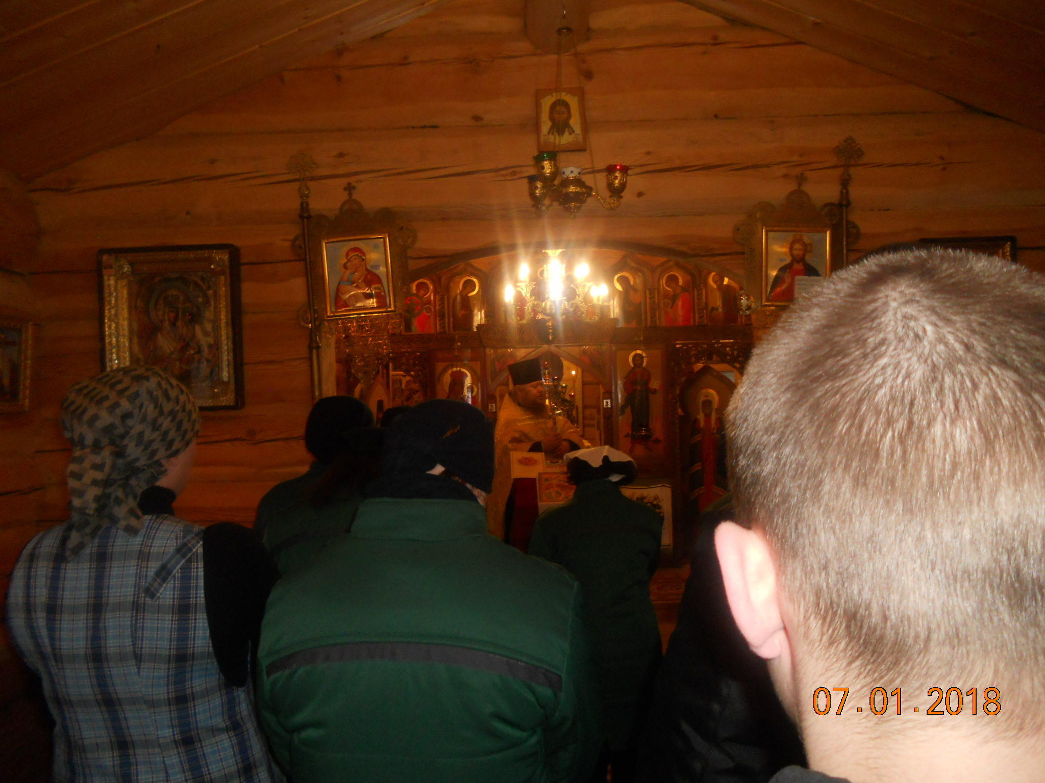 Рождество Христово за колючей проволокой